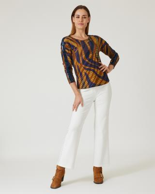 Shirt mit Muster-Mix