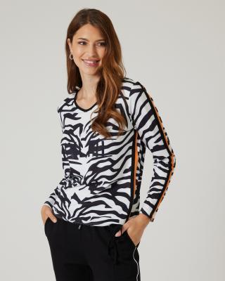 Shirt mit Animalprint