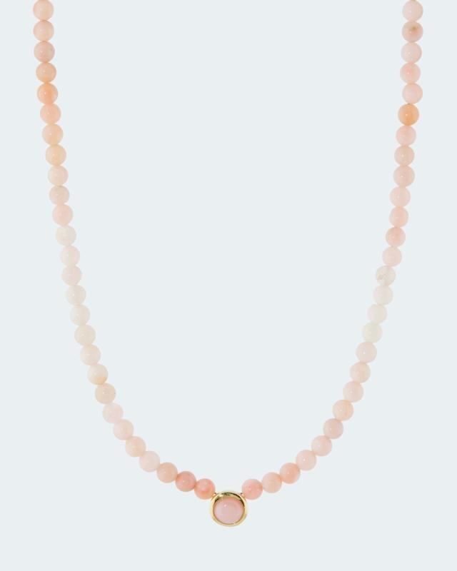 Opal-Collier mit Opal-Anhänger