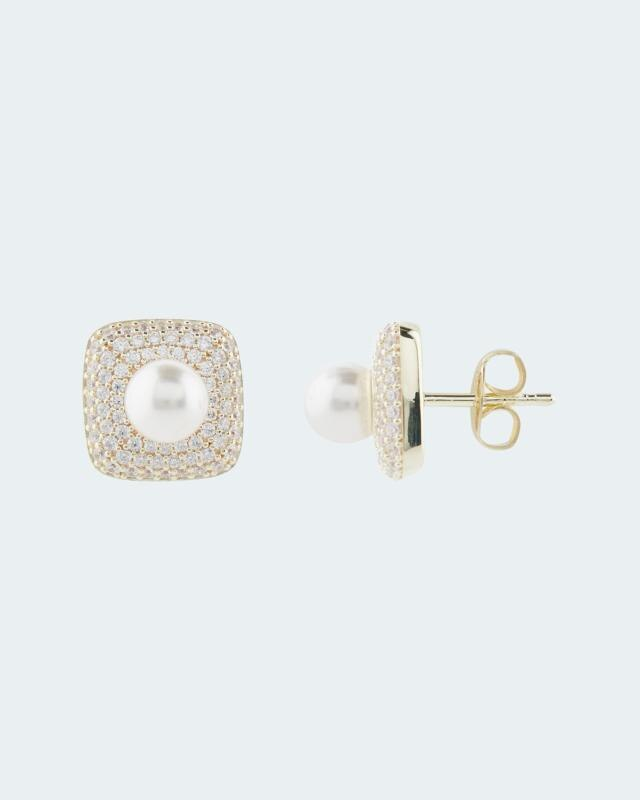 Ohrstecker MK-Perle 6 mm