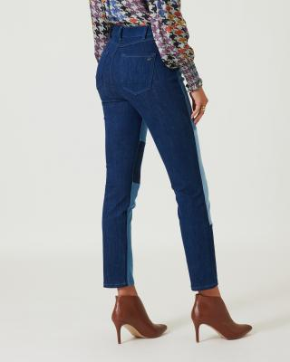 Jeans gepatched