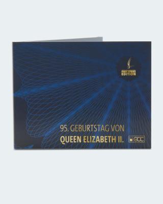 Goldmünze First Strike Ed. Queen 95. Geb.