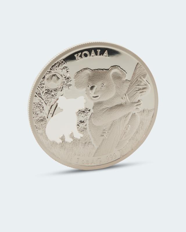 Shapes of Australia Silbermünze Koala