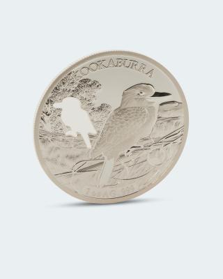 Shapes of Australia Silbermünze Kookaburra