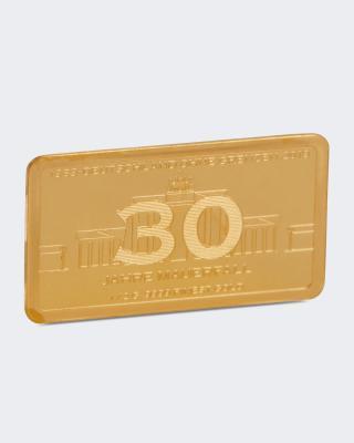 Goldbarren 30 Jahre Mauerfall