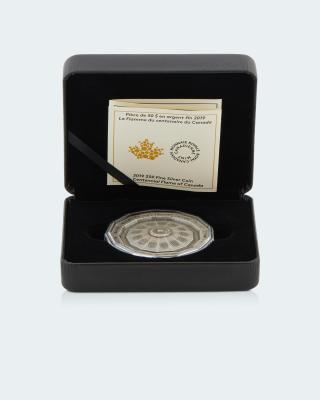 Silbermünze Kanada Centennial Flame
