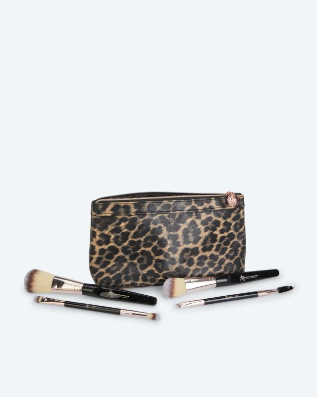Deluxe Brush Collection 4 Pinsel mit Tasche