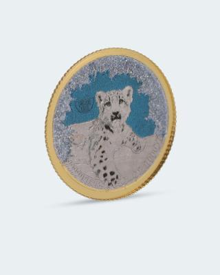 Polar Life Münze Schneeleopard