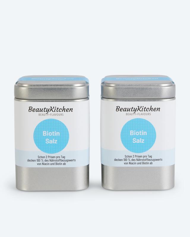 BeautyKitchen Biotin Salz, 2x 100 g