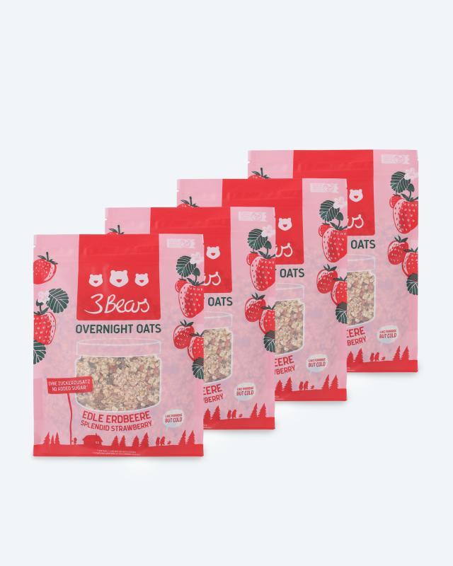"""Porridge 4er-Set + Rezeptbuch """"Hafer"""""""