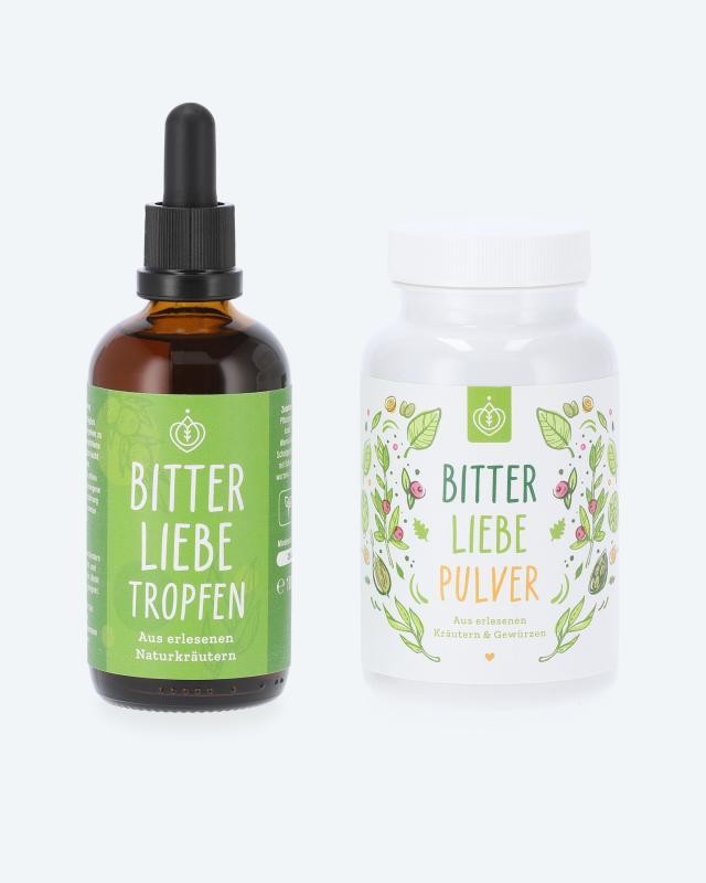 BitterLiebe Power-Set Tropfen & Pulver